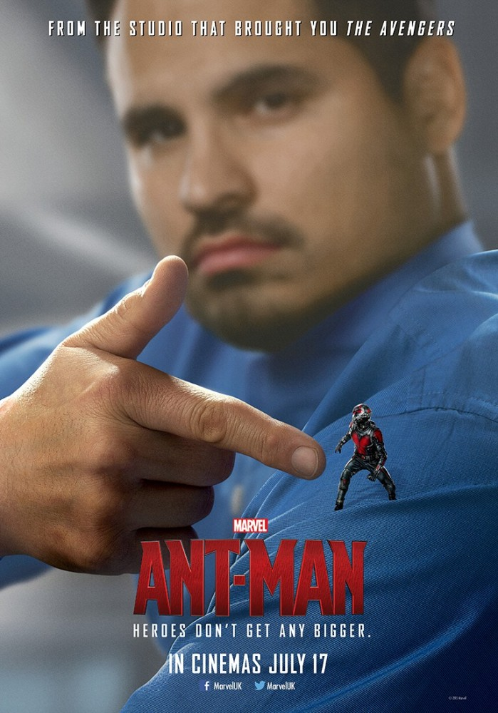 Ant-Man and the Hombre Pequeño